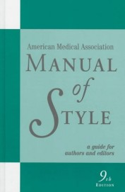 American Medical Association Manual Of Style A Guide For Authors & Editors