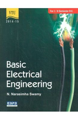 Basic Electrical Engineering For 1 & 2 Sem : Vtu