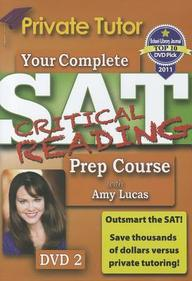 Your Complete SAT Critical Reading Prep Course with Amy Lucas- DVD 2