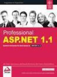 Professional Asp .Net 1.1