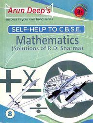 Self Help To Mathematics 8 : Cbse : Solutions Of Rd Sharma