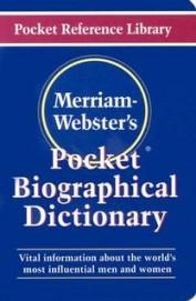 Pocket Biographical Dictionary