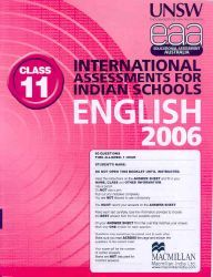 Iais 2006 Question Paper Booklet : English 2006-Class 11 [2006 Iais]