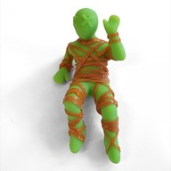 Suck Up Mummy Mike Silicone Rubber Band Holder