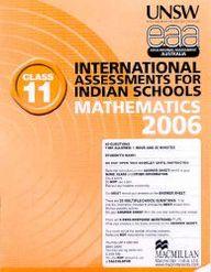 Iais 2006 Question Paper Booklet : Mathematics 2006-Class 11 [2006 Iais]