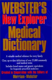 Websters New Explorer Medical Dictionary