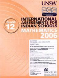 Iais 2006 Question Paper Booklet : Mathematics 2006-Class 12 [2006 Iais]