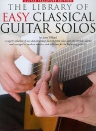 The Library Of Easy Classical Guitar Solos: Guitar Tablature Edition (Music Sales America)