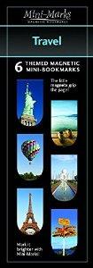 Mini-Mark Magnetic Bookmark-Travel
