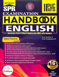 Spr 5 Star Series Examination Handbook English 2nd Puc