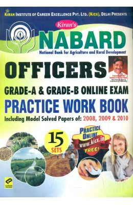 Nabard Officers Grade A & B Phase 1 Preliminary Exam Practice Work Book