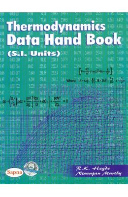 Thermodynamics Data Hand Book Si Units