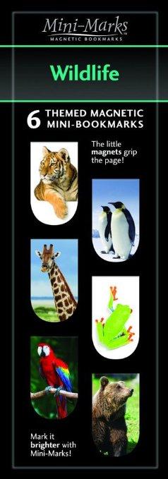 Mini-Mark Magnetic Bookmark-Wildlife