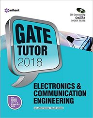 Electronics & Communication Engg Gate Tutor 2018 W/Cd : Code G475