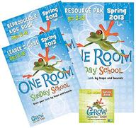 One Room Sunday School Spring 2013 Kit: Grow Your Faith by Leaps and Bounds