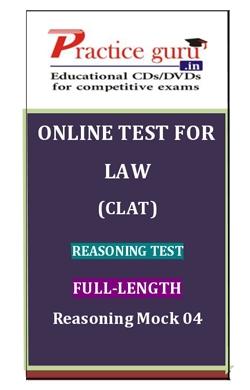 Online Test for Law: CLAT: Reasoning Test: Full-Length: Reasoning Mock 04