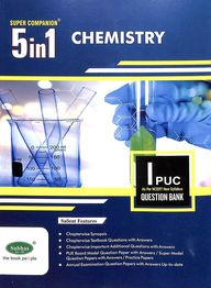Chemistry 1 Puc Question Bank : Super Companion 5 In 1