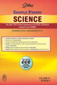 Golden Sample Paper Science Class 10 Term 1 Cce/Cbse