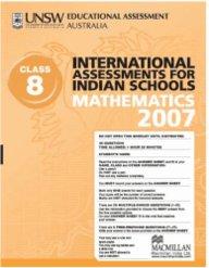 Iais 2007 Question Paper Booklet : Mathematics 2007 - Class 8 [2007 Iais]