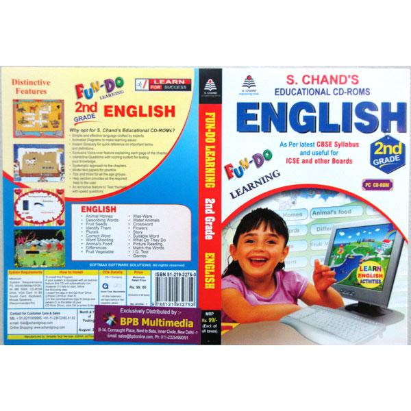 S Chand Educational CD-Rom: Fun-Do-English Class-2