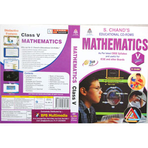 S Chand Educational CD-Rom: Mathematics For Class-5 (With 3 CDs)