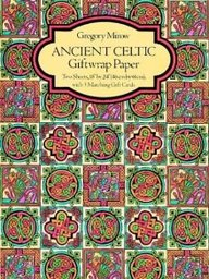 Ancient Celtic Giftwrap Paper