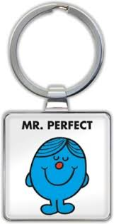 Mr. Perfect Keyring