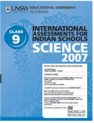 Iais 2007 Question Paper Booklet : Science 2007 - Class 9 [2007 Iais]