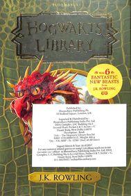 Hogwarts Library Box Set 3 Books