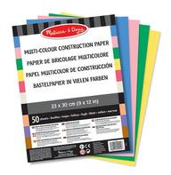 Multi-Colour Construction Paper