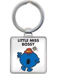 Little Miss Bossy Keyring