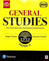 General Studies For Civil Services Preliminary Examinations Paper 2
