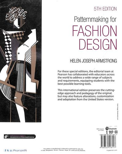 Buy Pattern Making For Fashion Design Book Helen Joseph Armstrong 9332518114 9789332518117 Sapnaonline Com India