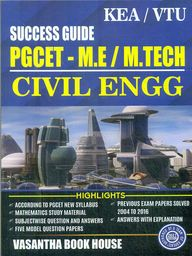 Success Guide Pgcet Me M Tech Civil Engineering 2018