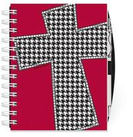 Houndstooth Cross Note Keeper