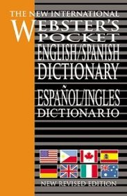 New International Websters English Spanish Dictionary