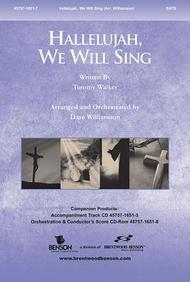 Hallelujah, We Will Sing Split Track Accompaniment CD