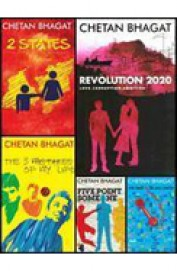 Chetan Bhagat Collection Set Of 7 Books