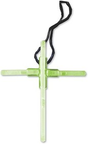 Family Outreach Events Glow Cross Necklace 10 Pack