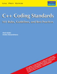 sutter and alexandrescu c++ coding standards