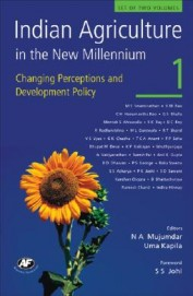 Indian Agriculture In The New Millennium  Vol 1