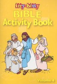 Itty-Bitty Bible: Jesus/Child, Vol. 4
