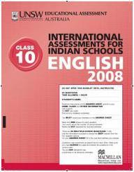 Iais 2008 Question Paper Booklet : English 2008 - Class 10 [2008 Iais]