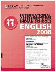 Iais 2008 Question Paper Booklet : English 2008 - Class 11 [2008 Iais]