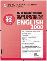Iais 2008 Question Paper Booklet : English 2008 - Class 12 [2008 Iais]