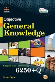 Buy Objective General Knowledge Chapter- wise Collection of (6250+Q