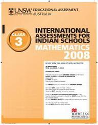 Iais 2008 Question Paper Booklet : Mathematics 2008 - Class 3 [2008 Iais]