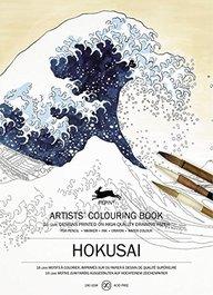 buy artists colouring book hokusai book 9460098150