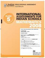 Iais 2008 Question Paper Booklet : Mathematics 2008 - Class 5 [2008 Iais]