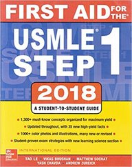 First Aid For The Usmle 1 A Student Guide 2018